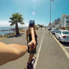 "Check out more sweet pics like these, who made them, and the stories behind them: instagram.com/capetownmag. Are you on Instagram? Tag one of your great pics with#CapeTownMag and we might just feature your image. The picture of the week for the winning #capetownmag feature!   ""#followmeto warm summer mornings spent long boarding with @cpt_girl down the Sea Point Promenade.""    featuring @craigrh_10 .  curated by @ishotimagesza"