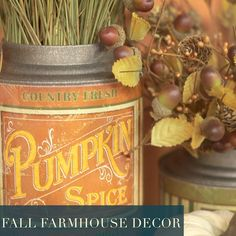 With both farmhouse and traditional inspiration, we have everything you need to decorate your table with golden-lit decor this fall. Hobby Lobby Fall Decor, Easy Chicken Dinner Recipes, Homemade Cleaning Products, Diy Projects Videos, Halloween Food For Party, Christmas Tree Themes, Diy Food, Diy Crafts To Sell, Decor Crafts