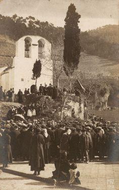 Cantaires de Catalunya a Sant Medir al 1908