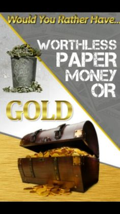Gold or paper? Which is worth more? Convert your worthless paper money into REAL GOLD! Join as an affiliate and show others how to do the same and begin earning a residual income from saving gold! Gold Runner, Gold Exchange, Fiat Money, Gold Bullion Bars, Home Based Business Opportunities, Investing In Cryptocurrency, Gold Money, Gold Stock, Worthless