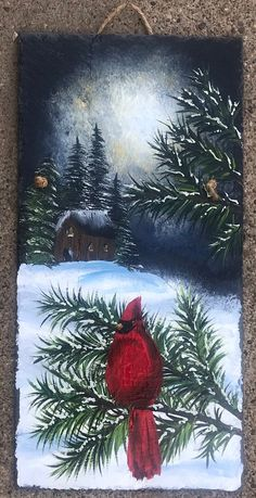 Christmas Paintings On Canvas, Christmas Canvas, Snowmen Paintings, Christmas Art Projects, Christmas Artwork, Christmas Tree Painting, Christmas Snowman, Winter Painting, Winter Art