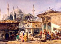 Osmanlı İstanbul'unun Resmini Yapan 19 Yabancı Ressam