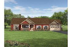 Huge Modular Home with Stone Work    Ranch • 81RAN30643AM • 1920 sq.ft • 3 Beds • 2 Baths • $141,000 - $145,000 #modularhome
