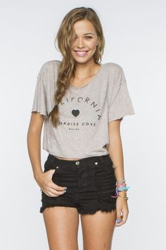 California Paradise Cove Shirt-Brandy Melville