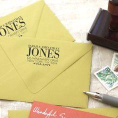 custom return address stamp