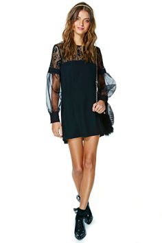 Nasty Gal Coquette Lace Dress   Shop Dresses at Nasty Gal