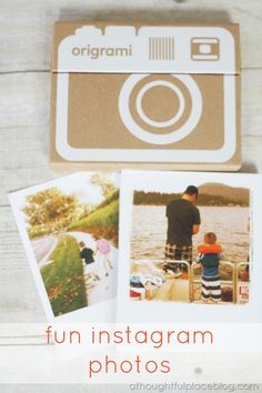 Do you take a ton of photos on your phone or for Instagram. Start printing them! So fun to have them in your own hands.