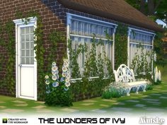 The wonders of Ivy... I had to have them, so hear they are! This set has 21 different sizes to create a wall  full of ivy. I might happen that you will need the cheat bb.moveobjects to place the...