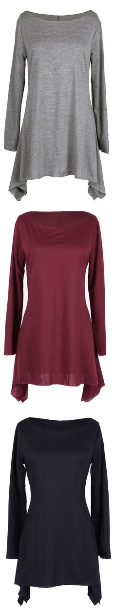 This cute long top features loose style and comfy fit, and we love it for those casual days. Wear it to a casual brunch with your girlfriends. Just enjoy this coming fall with this lovely top  at Cupshe.com