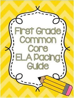 First Grade Time Saver ~ especially if you are new or are switching grades this year!!  I am definitely using this.