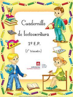 El blog de nuestros peques                1º y 2º : CUADERNILLO DE LECTOESCRITURA 1º Grammar, Montessori, Nursery Decor, Spanish, Preschool, 1, Family Guy, Language, Activities