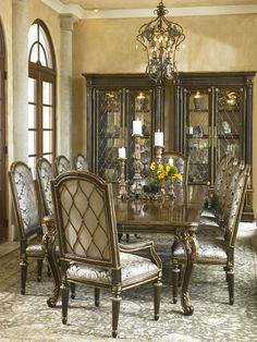 Shop For Marge Carson Trianon Court Side Chair And Other Dining Room Chairs At Hickory Furniture Mart In NC