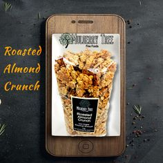 Find the best granola in Roasted Almond Crunch. We are the manufacturers,and suppliers to cafes and independent grocers as well as to frozen acai berry distributors in Australia. Low Sugar Granola, Crunchy Granola, Healthy Cereal, Healthy Breakfast Recipes, Granola Clusters, Best Granola, Mulberry Tree, Roasted Almonds, Gourmet