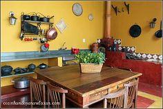 cozinha de sitio rustica - Pesquisa Google