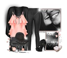 """""""~Love..you~"""" by li-lilou ❤ liked on Polyvore featuring WearAll, Armani Jeans, Miss Selfridge, Rebecca Minkoff, Pleaser, MAC Cosmetics, Marc Jacobs, NARS Cosmetics and Erica Lyons"""