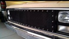 custom grill for square body chevy