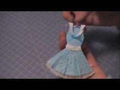 Paper Couture 11: Flirty Sailor Dress