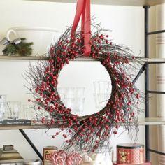 Red Berry Wreath | Ballard Designs