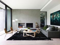 accogliente salotto in Australia http://www.foomann.com.au/project/mosh-house-elwood/?v=1