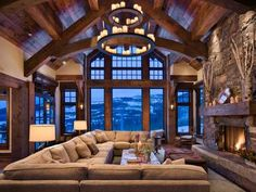 Gorgeous Homes in Alpine Chalet Style, Country Home Decorating Ideas