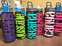 Personalized Camelbak Water bottles by AGVINYLCREATION on Etsy