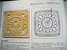 Hakerij / Crocheterie: Wagenwielvierkant / Wagon Wheel Square