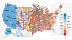 You Are Here: The 13 Best Maps of 2013 - Gizmodo  #Esri #ArcGIS #UrbanObservatory