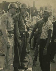 Terrence Roberts turned away from Central High School in 1957. Terrence James Roberts was a sophomore at Horace Mann High School when he volunteered to integrate Central High. (Courtesy Central High Museum Historical Collections/UALR Archives)