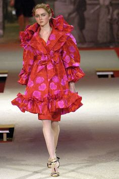 Christian Lacroix Spring 2006 Couture Fashion Show - Lily Cole