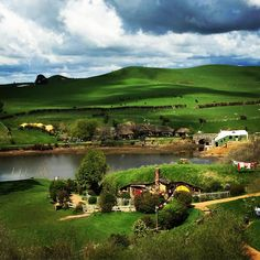 """It's a beautiful day in the Shire #newzealand"""