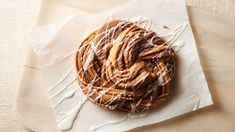 This simple yet impressive cinnamon crescent twist is bursting with cinnamon-sugar flavor. It's a sure hit for breakfast or brunch!