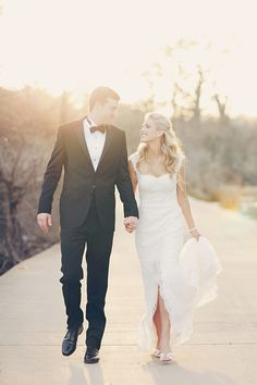 Texas outdoor wedding inspiration, plus her dress is elegant but comfortable looking
