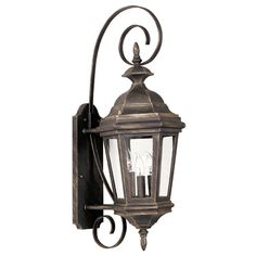 Visit The Home Depot to buy Kenroy Home Estate Antique Patina Medium Wall Lantern Wall Lights, Wall Mount Lantern, Outdoor Wall Sconce, Lanterns, Outdoor Walls, Kenroy Home, Media Wall, Wall Sconce Lighting, Light