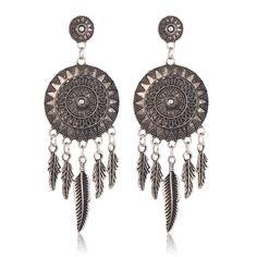 Dream Catcher Vintage Earrings