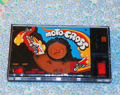 Vintage MotoCross Tomy Pocket Game by VintageRainbowShop on Etsy