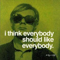 .@Cole Haan | What Andy said. #Bornin1928 #AndyWarhol #QOTD #Inspiration
