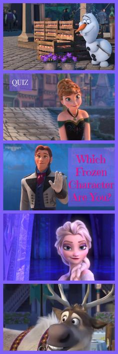 Do you want to build a snowman? Or perhaps you just want to take this quiz and find out which Frozen character you are! Let it go, and see if you're Anna, Elsa, or one of the many other charming characters! Disney Quiz, Walt Disney, Disney Mems, Disney Movies, Disney Stuff, Frozen Quiz, Disney Frozen, Princess Quizzes, Disney Princess
