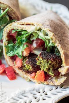 Learn how to make falafel, with easy to follow step-by-step photos to help you out