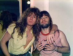Bruce Dickinson & John Sykes (Whitesnake)