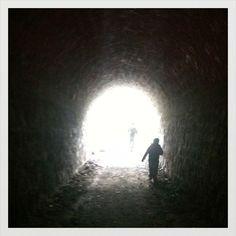 Túnel ferroviario abandonado, Cajón del Maipo