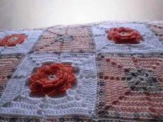T&P- La Ternura / Tenderness -Crochet / GAnchillo Manta / Blanket / Afghan