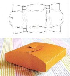 10 Beautiful DIY Patterns of Candy Gift Box - Free Candy Gift Box Templates and Printables Candy Gift Box, Diy Gift Box, Candy Gifts, Diy Box, Diy Gifts, Gift Boxes, Diy Paper, Paper Crafts, Box Patterns