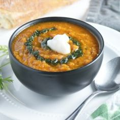 Roasted Carrot and Red Pepper Soup