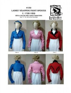 Regency Wrapping-Front Spencer Pattern