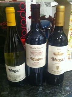 Botellas de vino de Bodegas Muga