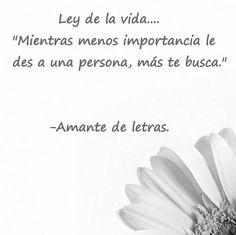 Ley de vida.... #amor #1001consejos #sonrie