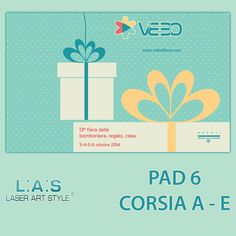L.A.S. team waits you to the Fair Vebo: the international #b2b #exhibition dedicated to the world of wedding favors, gifts and households. Our stand is here: PADIGLIONE 6 CORSIA A-E. Discover all information about Vebo on our #blog http://www.laserartstyle.it/2014/09/02/l-a-s-vi-aspetta-alla-13-edizione-del-vebo/