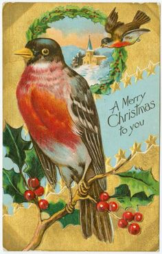 https://flic.kr/p/DSGMLw | Old Christmas postcard 2 (Courtesy of the NYPL)