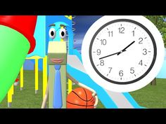 Telling Time to the Half Hour - 1st Grade - YouTube