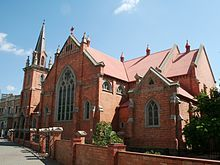 Trinity Methodist Church in Kimberley, Northern Cape (South Africa). Church Building, Unique Architecture, Christian Church, Place Of Worship, African History, Barcelona Cathedral, South Africa, Beautiful Places, Places To Visit